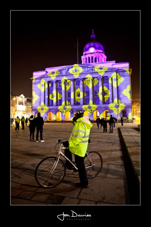 Nottingham Light Night 2012